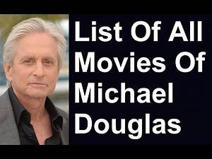 Michael Douglas Movies & TV Shows List