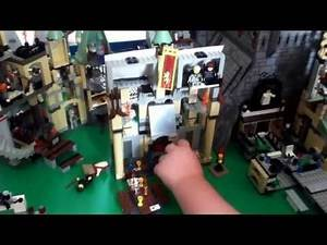 Lego Harry Potter custom Hogwarts review part 2
