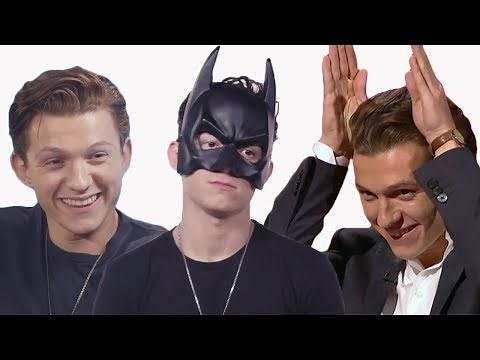 Tom Holland Funny Moments 2017
