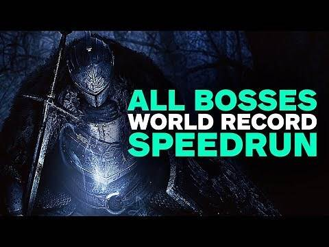 Dark Souls 2 All Bosses Defeated Speedrun