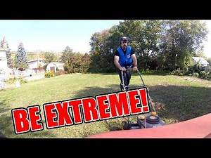 Extreme Lawn Mowing