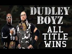 All of Dudley Boyz Championships Wins in WWE/WWF