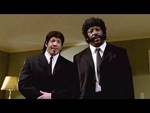 """Eddie Guerrero and Booker T do their best """"Pulp Fiction"""" impersonations: WrestleMania 21"""