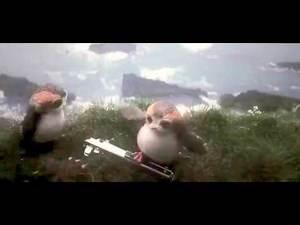 Porg Lightsaber   Leaked Deleted Scene   Star Wars   Episode VIII   The Last Jedi