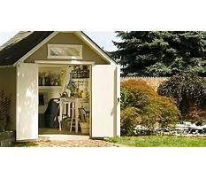 12x16 wood shed Video