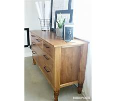 5 drawer dresser plans free Video