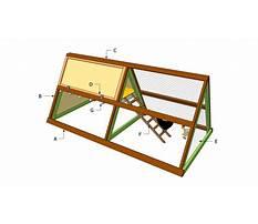 A frame chicken coop plans Video