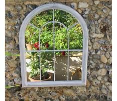 Acrylic garden mirrors Video