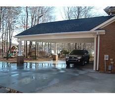 Add on carport design Video