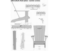 Adirondack chair plans metric version.aspx Video
