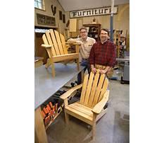 Adirondack chair plans new yankee workshop Video