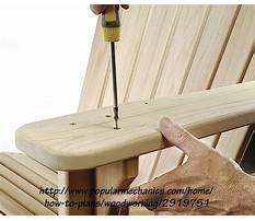 Adirondack chair templates.aspx Video