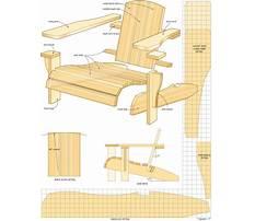 Adirondack lawn furniture plans Video