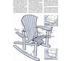 Adirondack rocking chair woodworking plans.aspx Video