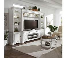 Affordable white entertainment center Video