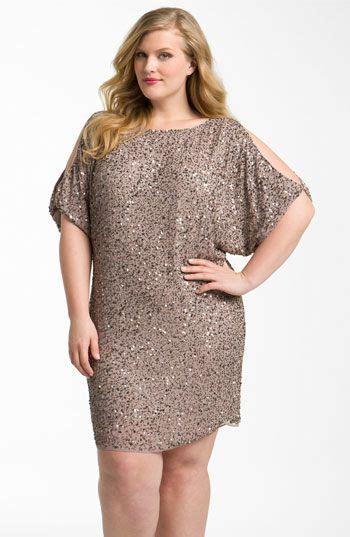 HD wallpapers dknyc plus size dress long sleeve surplice sequin