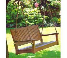 All things cedar teak porch swing Video