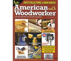American woodworking magazine Video