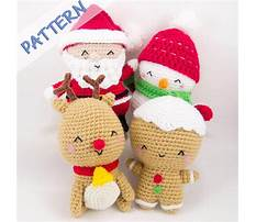 Amigurumi free christmas patterns Video