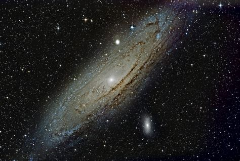 Andromeda Galaxy From Earth