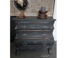 Annie sloan painted tables in graphite Video