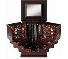 Anti tarnish jewelry box for silver Video