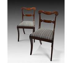 Antique bench chair with handles Video