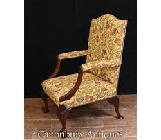 Antique bench chairs with arms Video