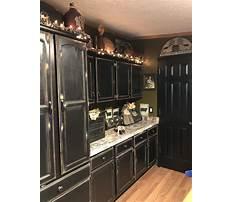 Antique black kitchen cabinets Video