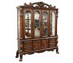 Antique china cabinet plans Video