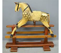 Antique rocking horse for sale ebay Video