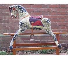 Antique rocking horses restration Video