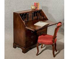Antique writing desk with drawers Video