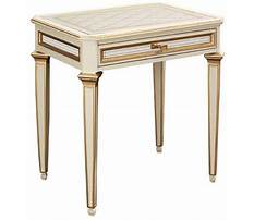 Antoinette side tables hickory chair Video