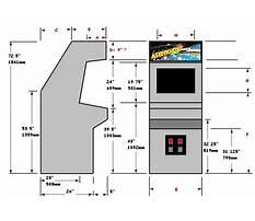 Arcade cabinet plans download Video