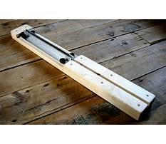 Arrow shaft tapering jig Video