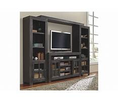 Ashley furniture cream entertainment center Video