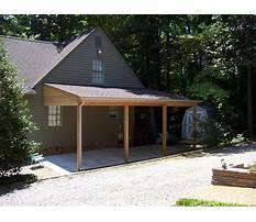 Attached carport design plans Video