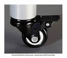Audio racks with casters Video