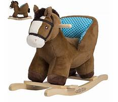 Baby rocking horse with seat Video