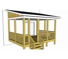 Back porch construction plans Video