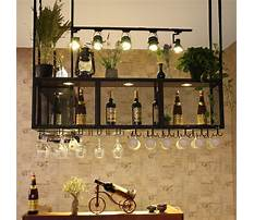 Bar supplies wine glass rack Video