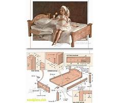 Barbie doll wood furniture plans Video