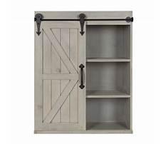 Barn wood wall cabinet Video