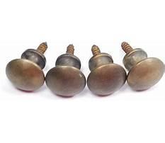 Barrister bookcase knob Video