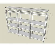 Basement shelving unit plans Video