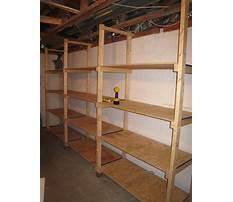 Basement storage shelves woodworking plans.aspx Video
