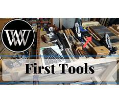 Basic tools for a hand tool woodworking shop starter tool set for the workshop Video