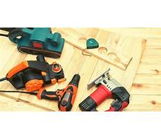 Basic woodworking tools Video