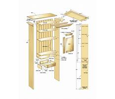 Bathroom cabinets plans woodworking Video